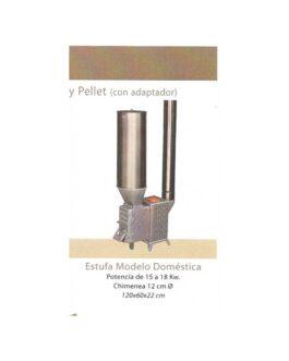 Estufa Biomasa DOMÉSTICA